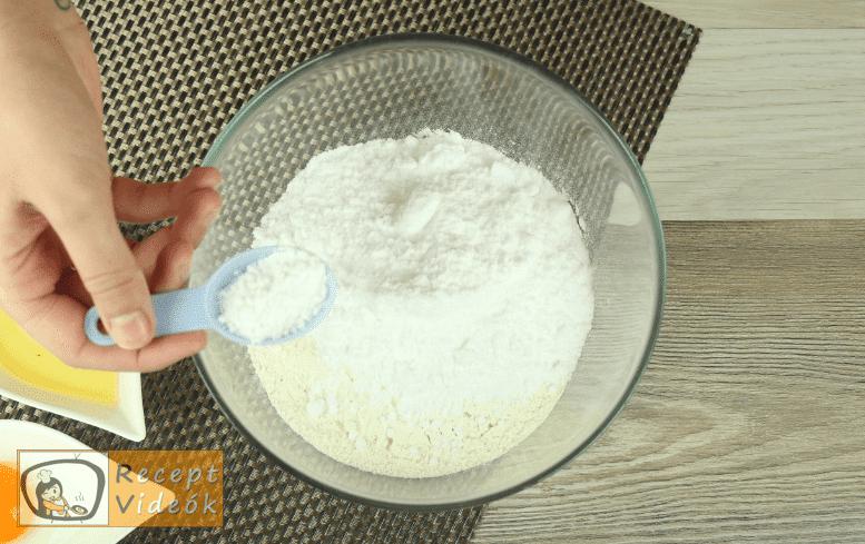 Diós gombák recept, diós gombák elkészítése 1. lépés