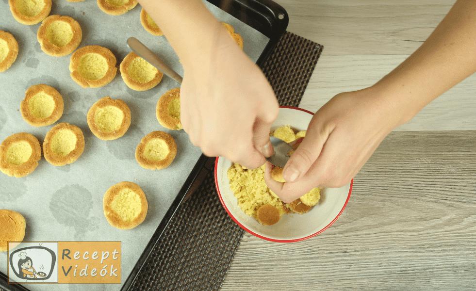 Diós gombák recept, diós gombák elkészítése 5. lépés