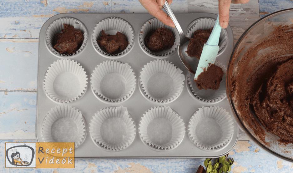 Karácsonyi muffin recept, karácsonyi muffin elkészítése 5. lépés