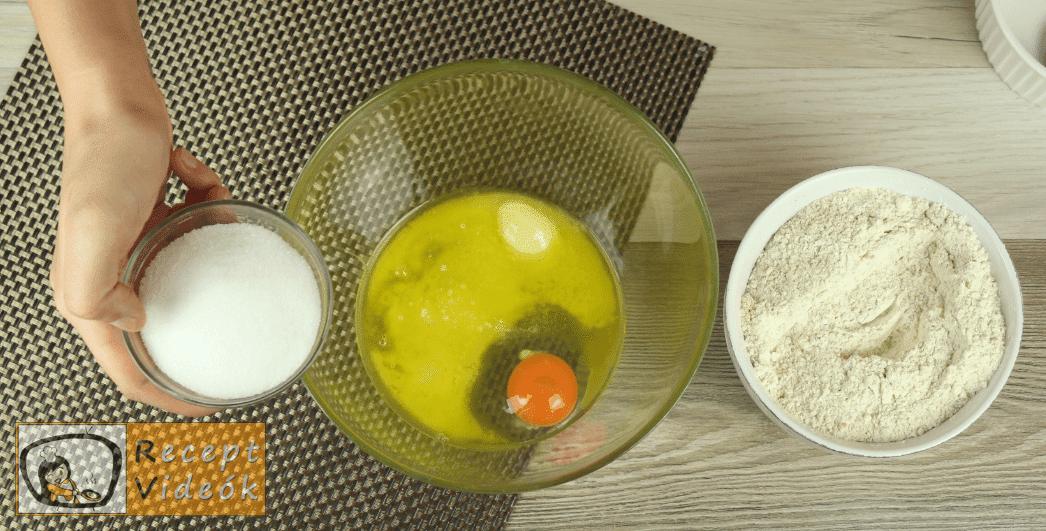 Diós gombák recept, diós gombák elkészítése 7. lépés