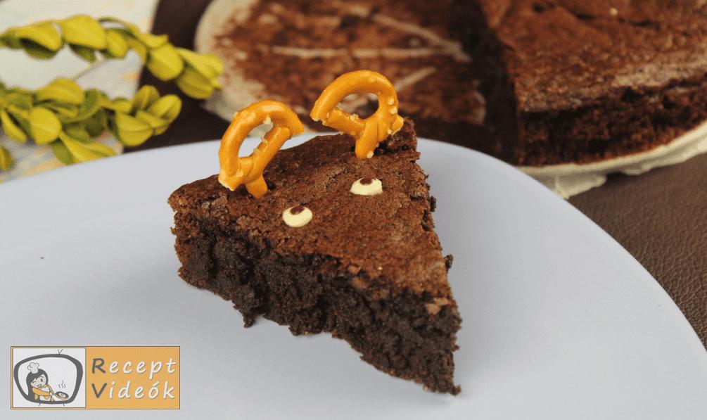 Rénszarvas brownie recept, rénszarvas brownie elkészítése 7. lépés