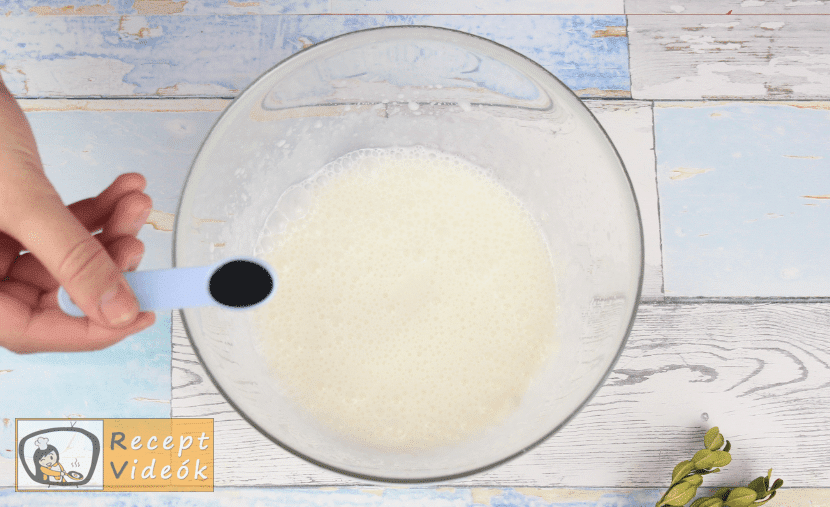 Mentolos-csokis sajttorta recept, mentolos-csokis sajttorta elkészítése 7. lépés