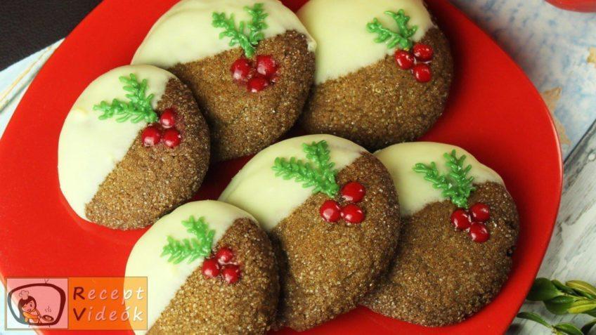 Gyömbéres keksz recept, gyömbéres keksz elkészítése - Recept Videók