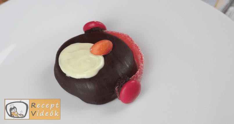 Oreo pingvinek recept, Oreo pingvinek elkészítése 3. lépés