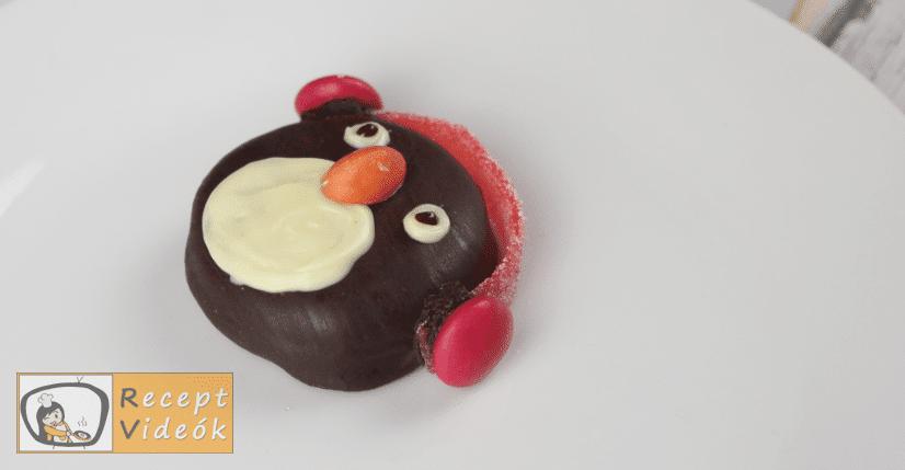 Oreo pingvinek recept, Oreo pingvinek elkészítése 4. lépés