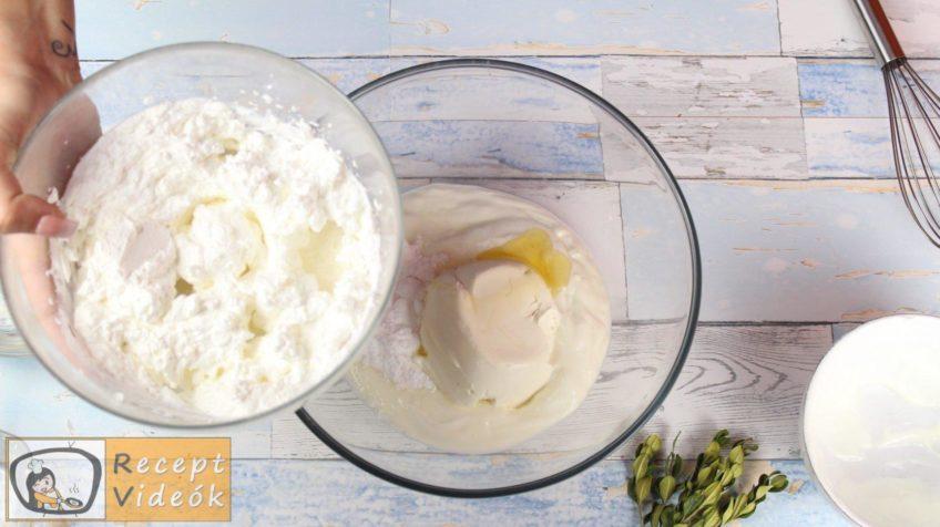 Joghurtschnitte recept, Joghurtschnitte elkészítése 6. lépés