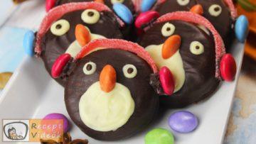 Oreo pingvinek recept, Oreo pingvinek elkészítése - Recept Videók