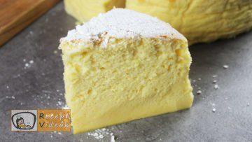 Japán sajttorta recept, Japán sajttorta elkészítése - Recept Videók