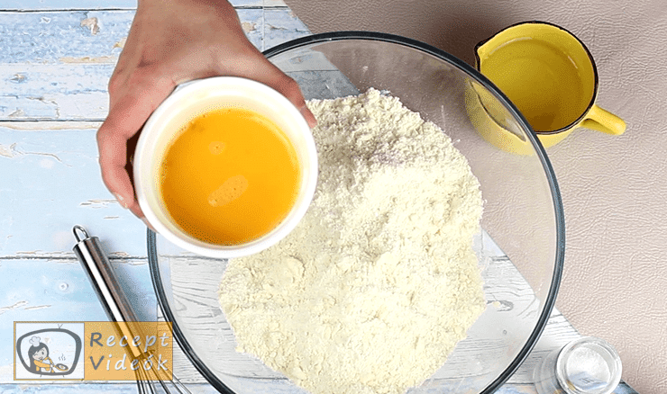 Zselés citrompite recept, Zselés citrompite elkészítése 3. lépés