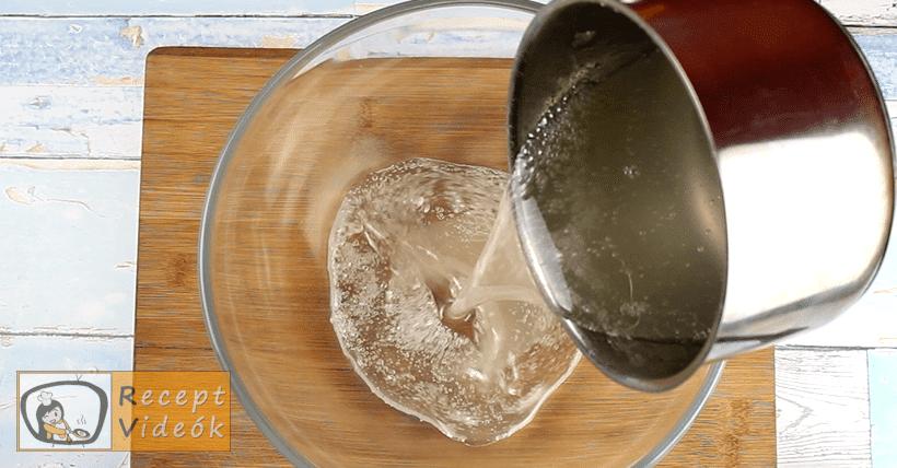 Pillecukor (Mályvacukor)recept, Pillecukor (Mályvacukor) elkészítése 3. lépés