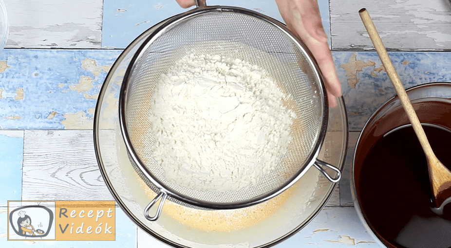 Sült palacsinta recept, Sült palacsinta elkészítése 6. lépés