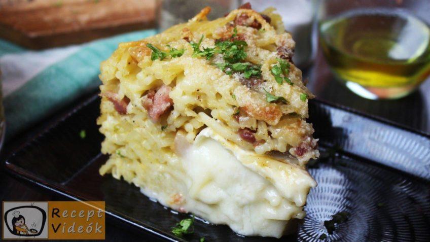 Spagetti torta recept, Spagetti torta elkészítése - Recept Videók