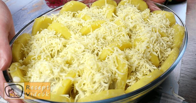 Burgonya gratin recept, Burgonya gratin elkészítése 7. lépés