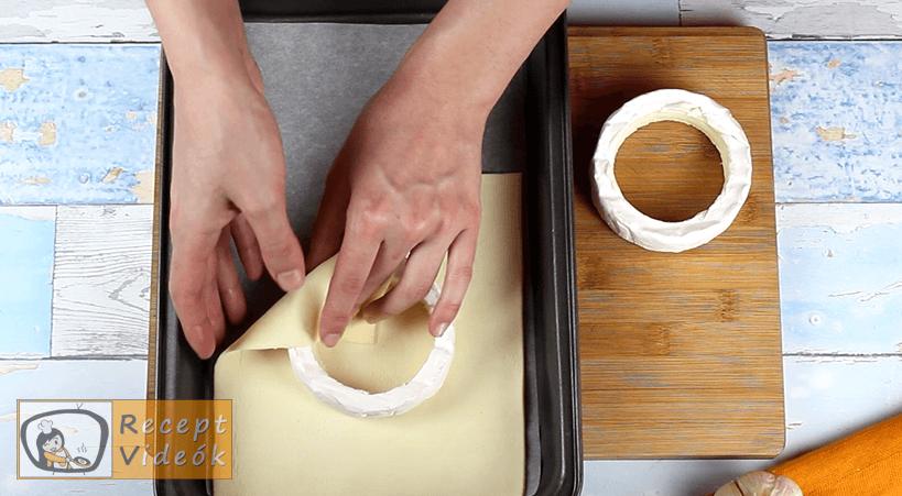 Töltött camembert recept, Töltött camembert elkészítése 2. lépés