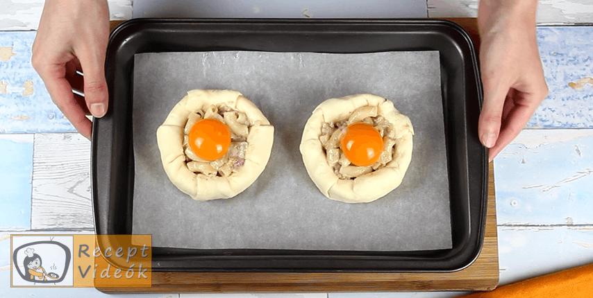 Töltött camembert recept, Töltött camembert elkészítése 6. lépés