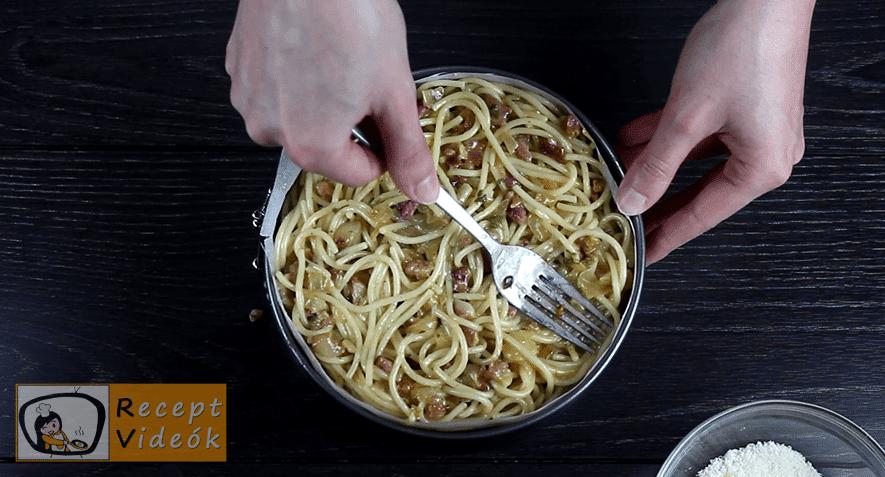 Spagetti torta recept, Spagetti torta elkészítése 5. lépés