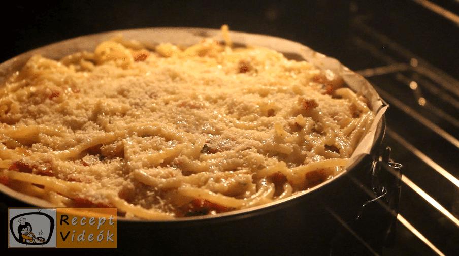 Spagetti torta recept, Spagetti torta elkészítése 6. lépés