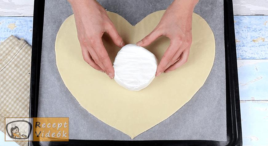 Sajtfondü szív recept, Sajtfondü szív elkészítése 3. lépés