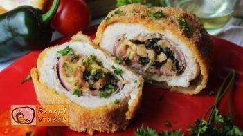 Csirketekercs recept, Csirketekercs elkészítése - Recept Videók