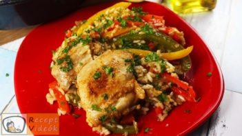 Csirke Fajitas recept, Csirke Fajitas elkészítése - Recept Videók