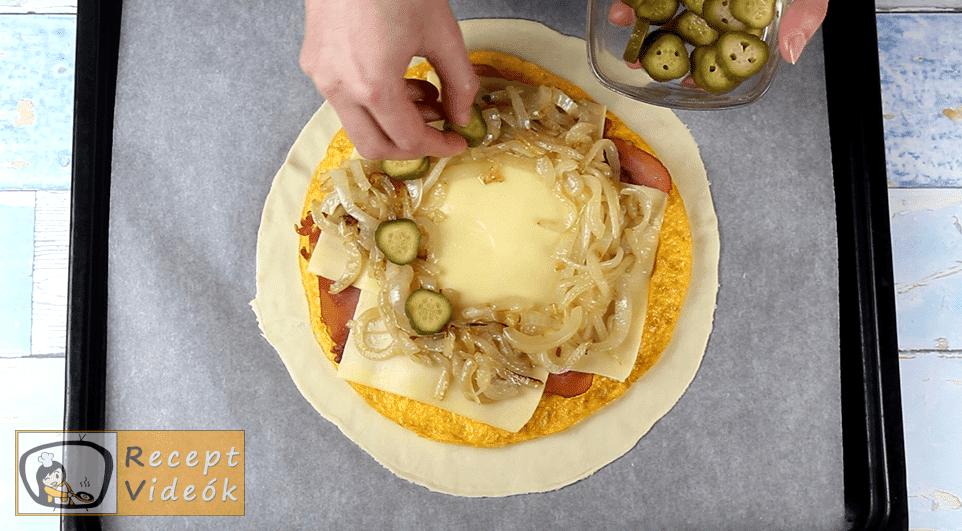 Tojásos calzone recept, Tojásos calzone elkészítése 6. lépés