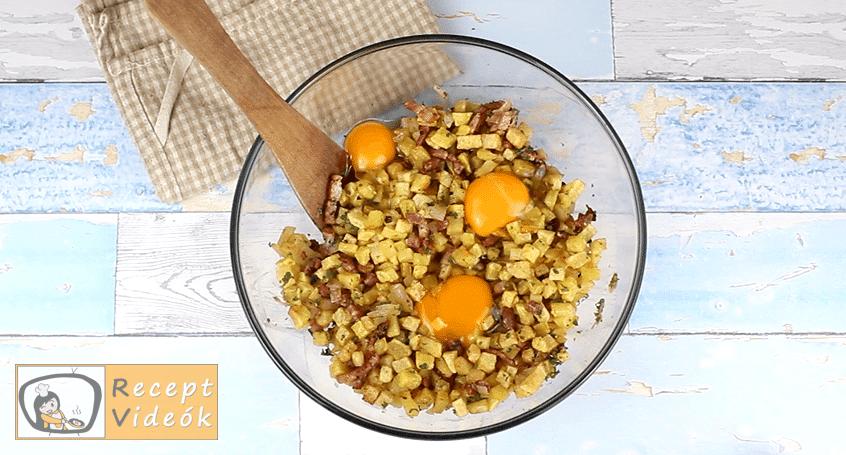 Rakott sült burgonya recept, Rakott sült burgonya elkészítése 3. lépés