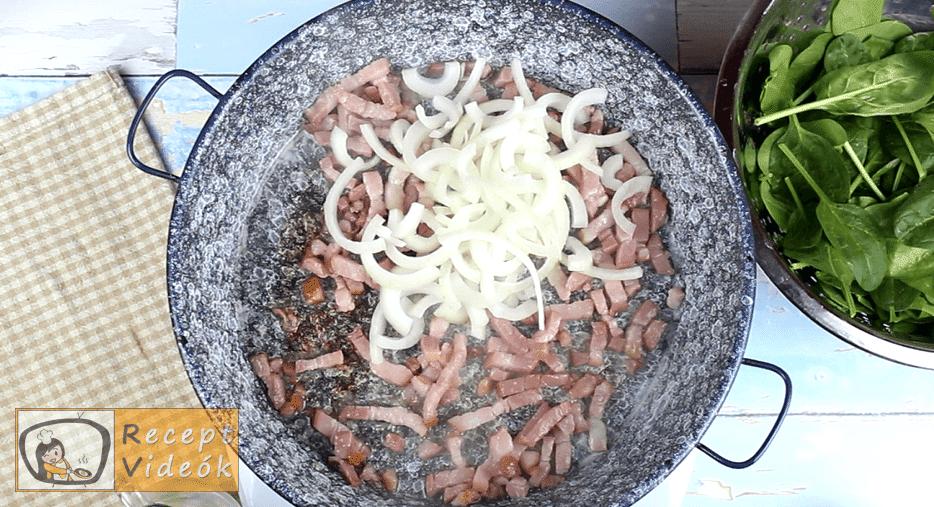 Csirketekercs recept, Csirketekercs elkészítése 1. lépés