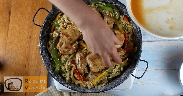Csirke Fajitas recept, Csirke Fajitas elkészítése 6. lépés