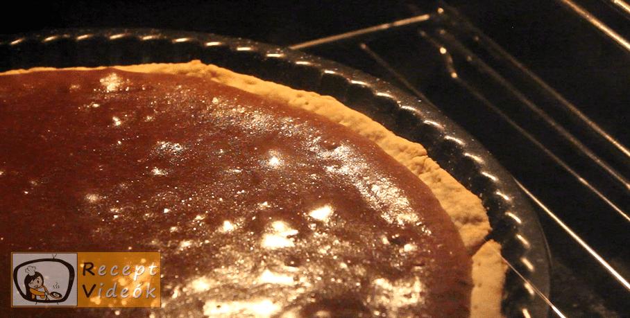 Csokis pite recept, Csokis pite elkészítése 9. lépés