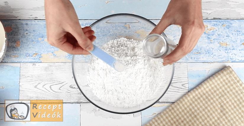 Macaron recept, Macaron elkészítése 1. lépés