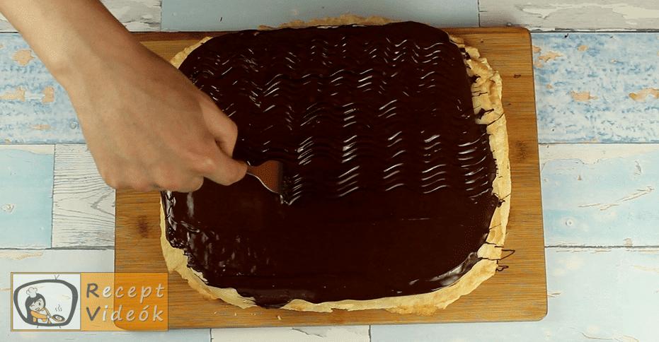 Hatlapos sütemény recept, Hatlapos sütemény elkészítése 10. lépés