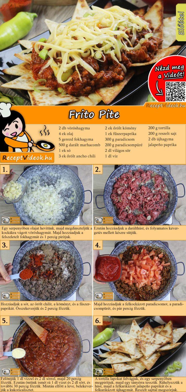 Frito Pite recept elkészítése videóval