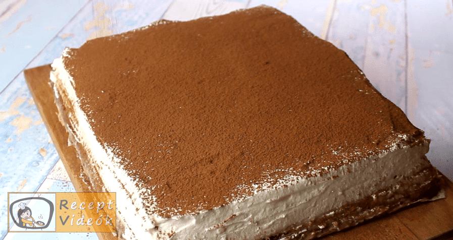 Gesztenyés szelet recept, Gesztenyés szelet elkészítése 8. lépés