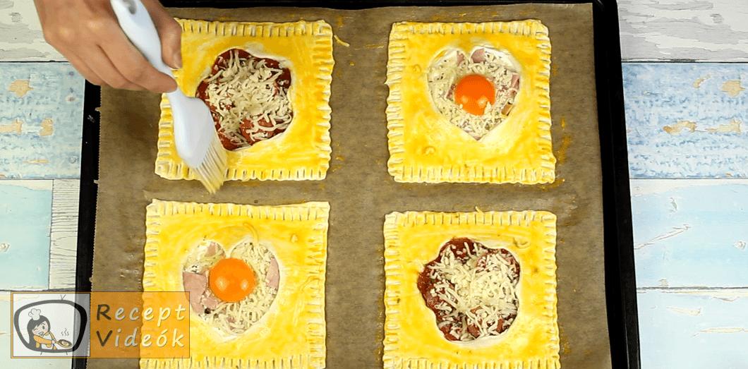 Leveles puff recept, Leveles puff elkészítése 9. lépés
