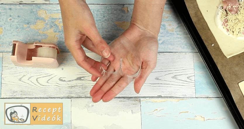 Leveles puff recept, Leveles puff elkészítése 5. lépés