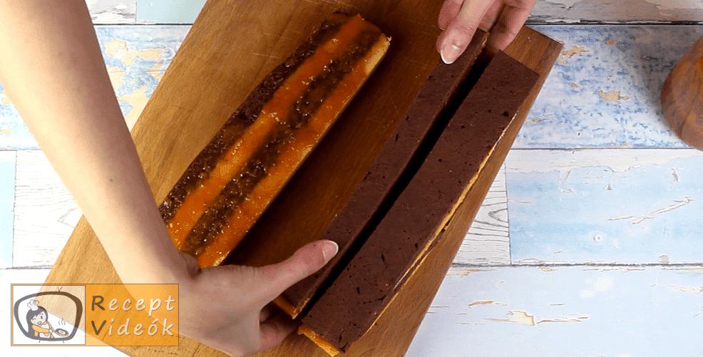 Sakk szelet recept, Sakk szelet elkészítése 6. lépés