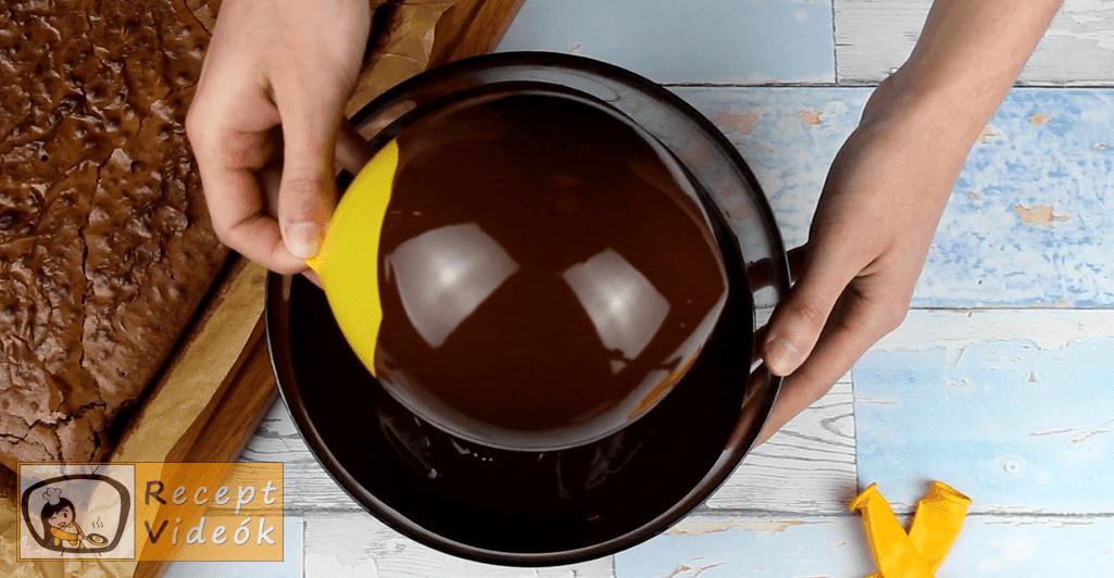 Olvadó csokigömb recept, Olvadó csokigömb elkészítése 1. lépés