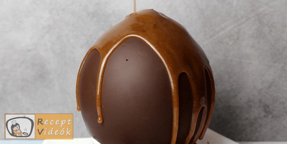 Olvadó csokigömb recept, Olvadó csokigömb elkészítése 5. lépés