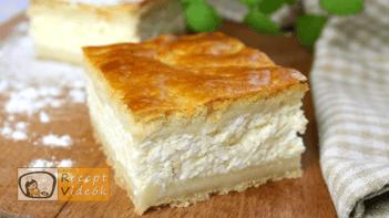 Túrós pite recept, Túrós pite elkészítése - Recept Videók