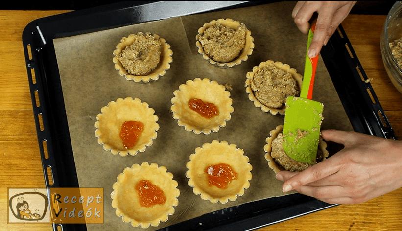 Diós kosárka recept, Diós kosárka elkészítése 7. lépés
