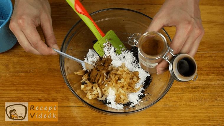 Orchidea szelet recept, Orchidea szelet elkészítése 6. lépés