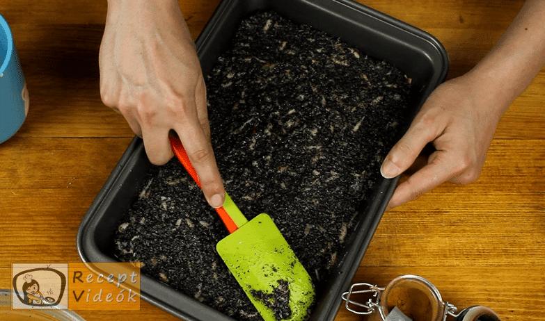 Orchidea szelet recept, Orchidea szelet elkészítése 7. lépés