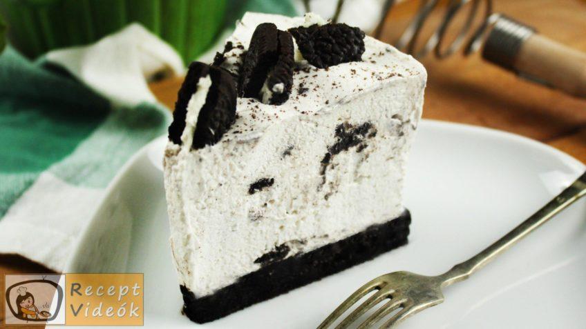 Oreo sajttorta recept, Oreo sajttorta elkészítése - Recept Videók