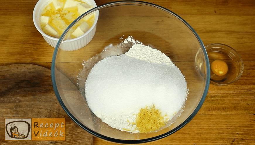 Ujjlenyomat süti recept, Ujjlenyomat süti elkészítése 1. lépés