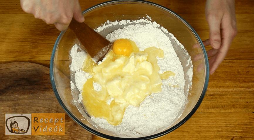 Ujjlenyomat süti recept, Ujjlenyomat süti elkészítése 2. lépés