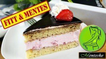 MENTESKE Csokoládés Eperkrém torta