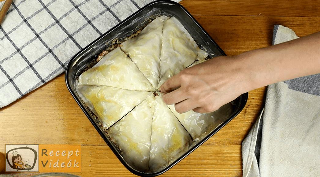 Baklava recept, Baklava elkészítése 10. lépés