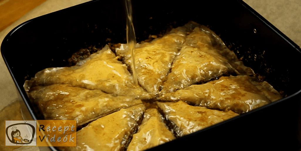Baklava recept, Baklava elkészítése 12. lépés