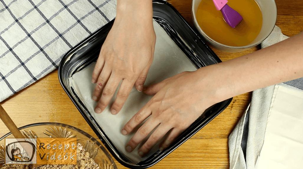 Baklava recept, Baklava elkészítése 3. lépés