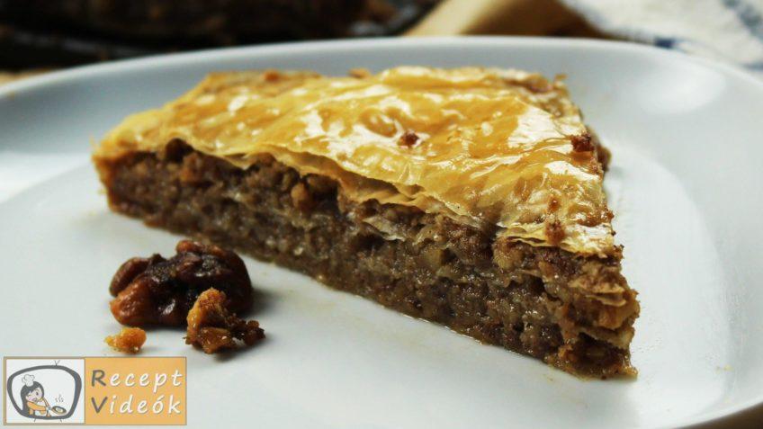 Baklava recept, Baklava elkészítése - Recept Videók